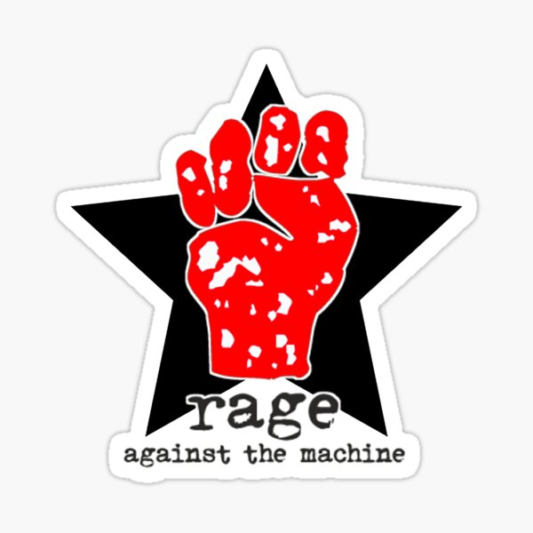 Rage Against The Machine 1992 Sticker