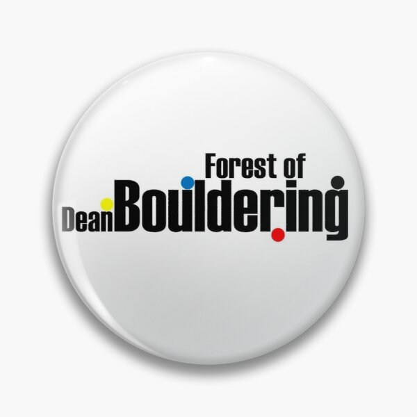Forest Bouldering by ROOTS CLIMBING Pin