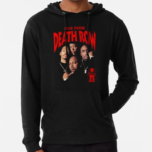 Death Row Records Snoop Dogg Sudadera ligera con capucha