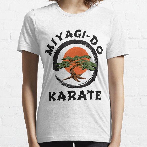 Miyagi Do T-shirt Cobra Kai Karaté Kid Homme Unisexe film arts martiaux Rétro Cadeau