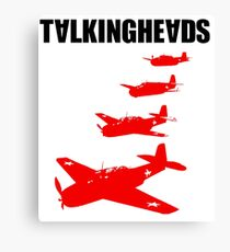 Talking Heads - Remain in Light (Back) Canvas Print