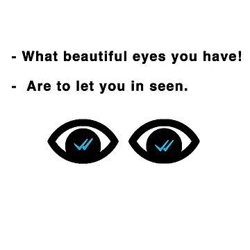 beautiful eyes by Mariapuraranoai