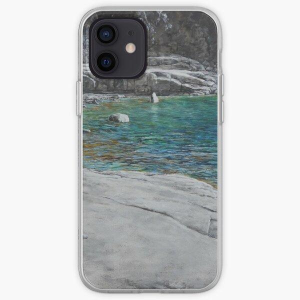 Reflections at Sleepy Bay, Tasmania iPhone Soft Case