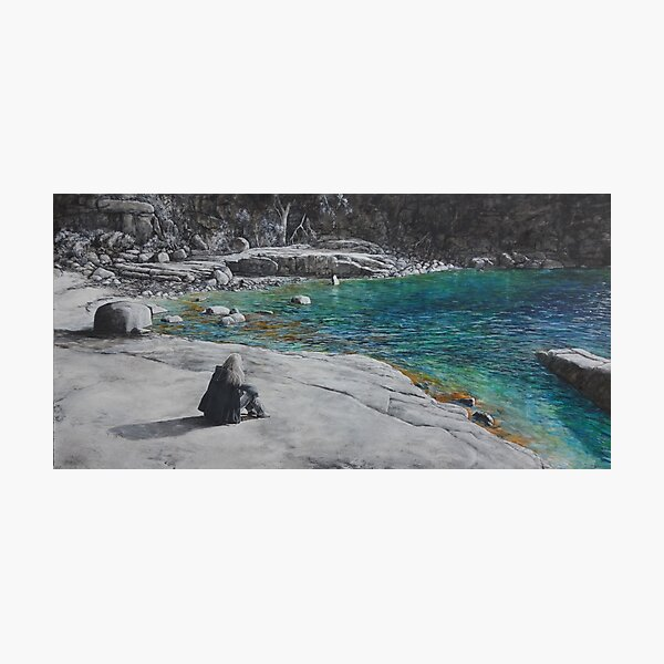 Reflections at Sleepy Bay, Tasmania Photographic Print