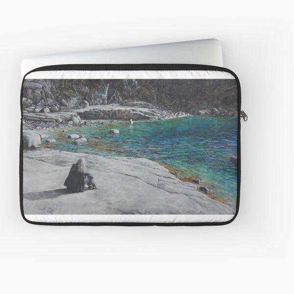 Reflections at Sleepy Bay, Tasmania Laptop Sleeve