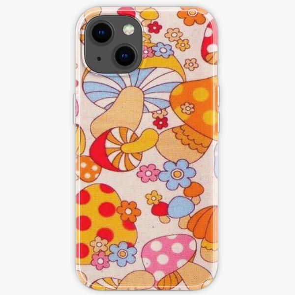 y2k indie mushrooms iPhone Soft Case