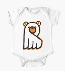 Body de manga corta para bebé Ghost Bear IV