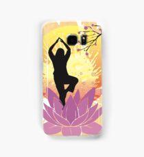 Serenity Yoga Design Samsung Galaxy Case/Skin