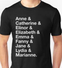 Women of Jane Austen T-Shirt