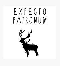Expecto Patronum 02 Photographic Print