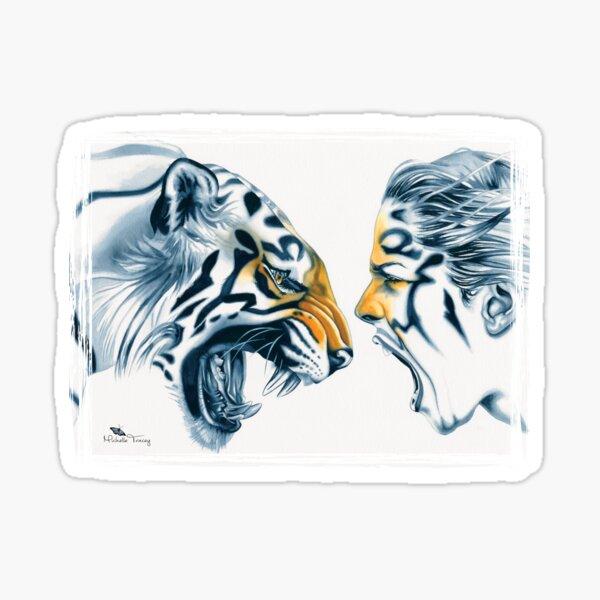 Tiger Totem Sticker