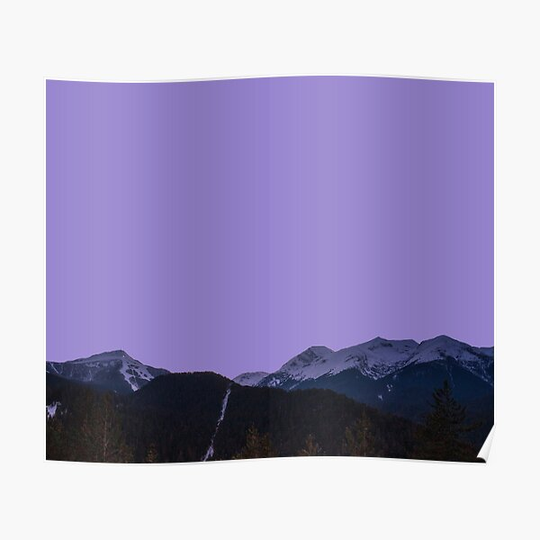 The Purple Mountain Poster