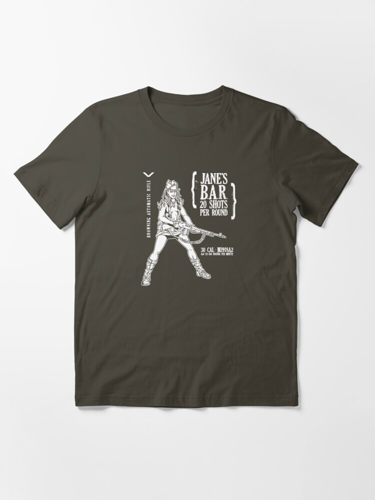 Alternate view of Jane's B.A.R. Essential T-Shirt