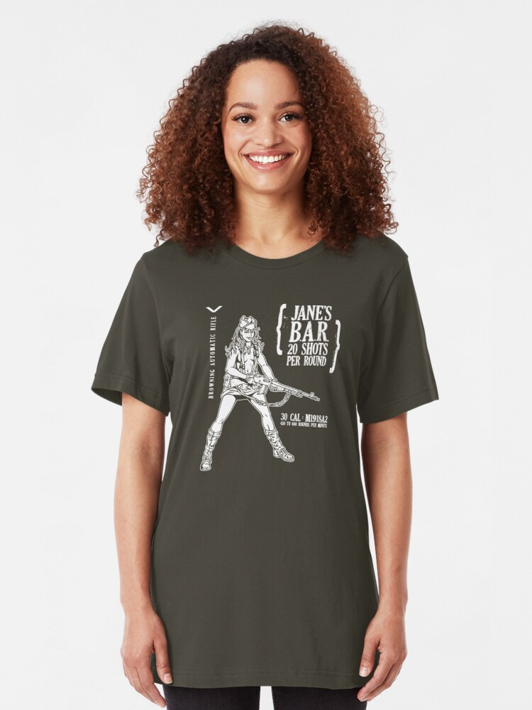 Alternate view of Jane's B.A.R. Slim Fit T-Shirt