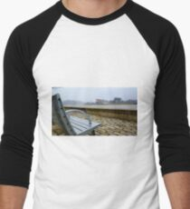 Steelers Football Bench View Men's Baseball ¾ T-Shirt