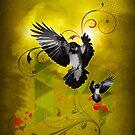 Crows by Kurt  Tutschek