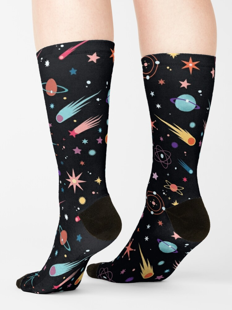 Alternate view of Fly Through Space  Socks