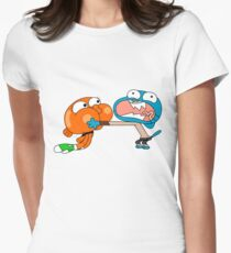 The amazing world of gumball 7 Women's Fitted T-Shirt