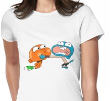 The amazing world of gumball 7 Womens Fitted T-Shirt