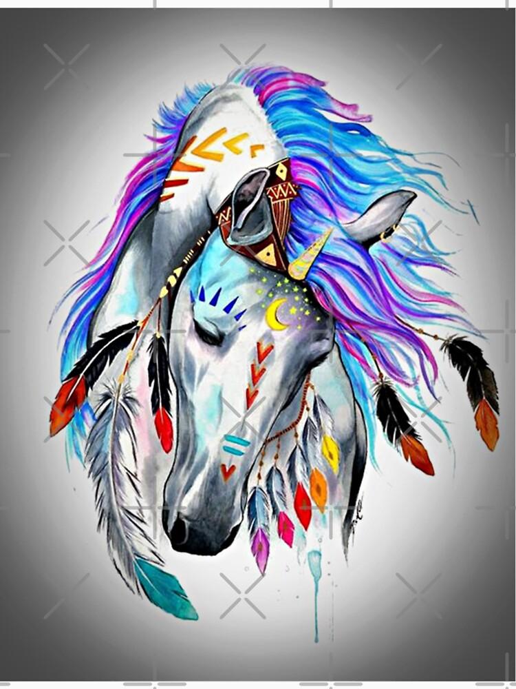 Native American  Horse by CrisRodrigues