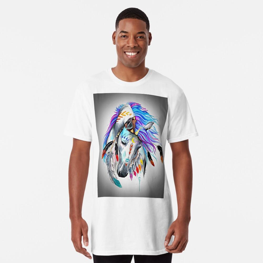 Native American  Horse Long T-Shirt