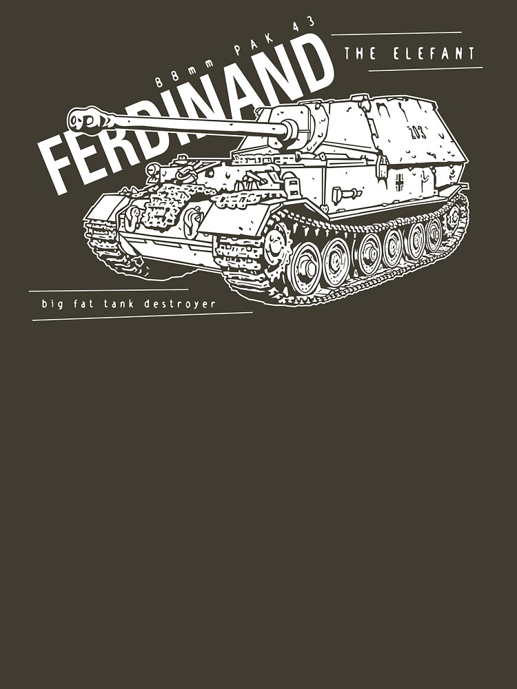 Ferdinand Tank Destroyer  by b24flak