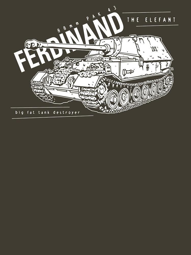 Ferdinand Tank Destroyer  by b24flak
