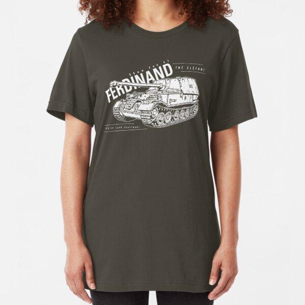 Ferdinand Tank Destroyer  Slim Fit T-Shirt