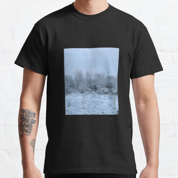 Snowy Winter Forest Classic T-Shirt