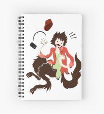Werwolf Spiral Notebook