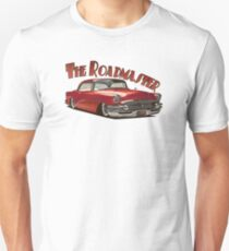1955 Buick Roadmaster - Red 4 T-Shirt