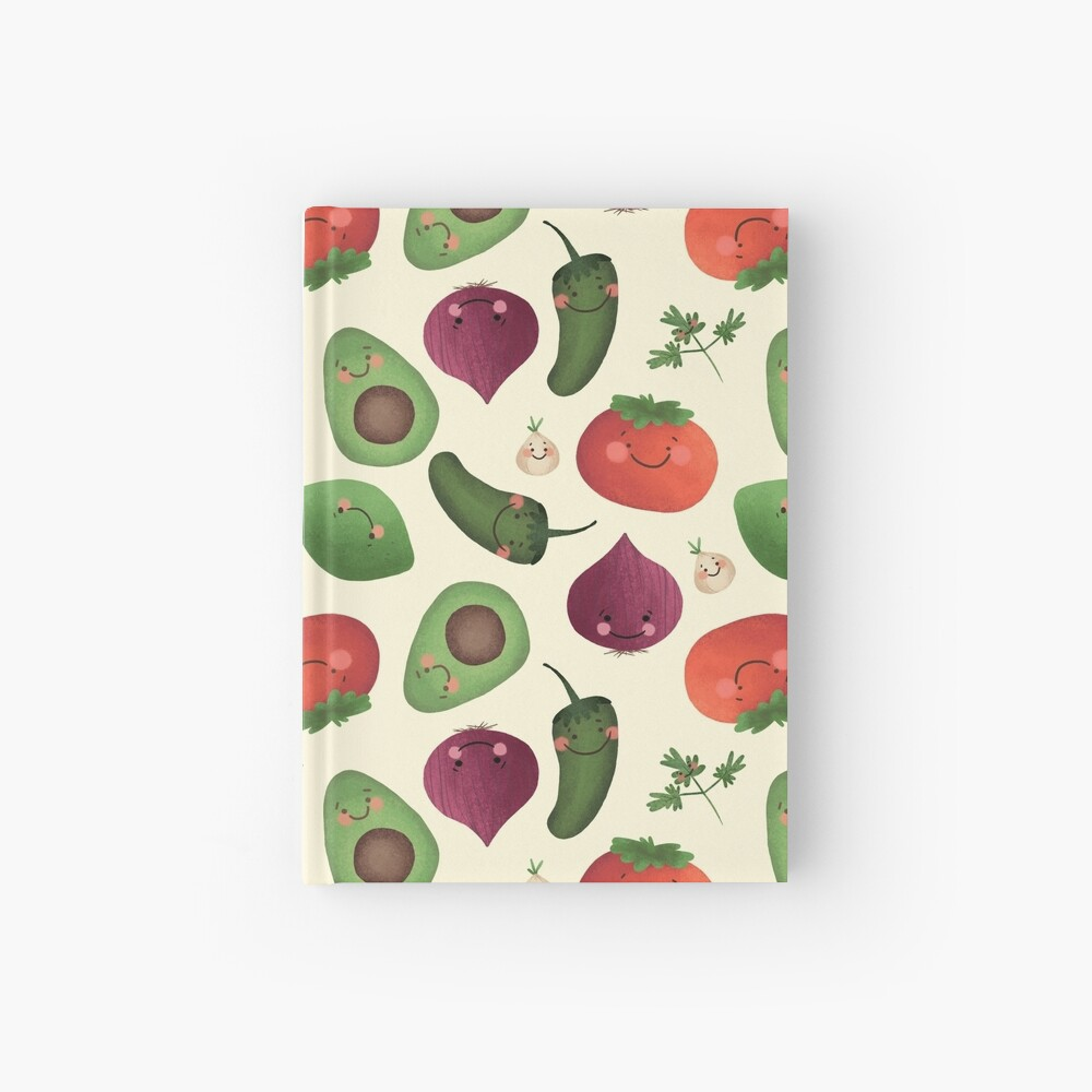 Happy Guacamole  Hardcover Journal