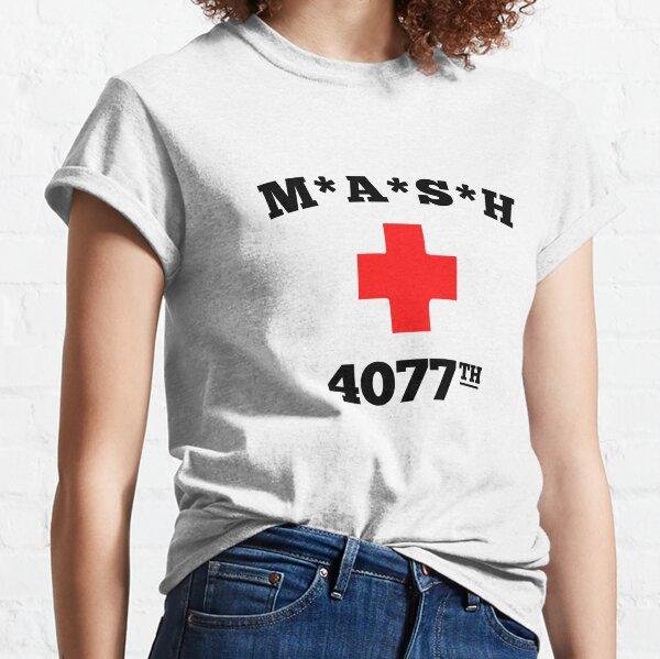 Mash 4077th T Shirt 70s Tv Series Show USA Comedy Funny Cool Gift Tee 205