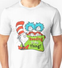 Reading is My Thing Seuss T-Shirt