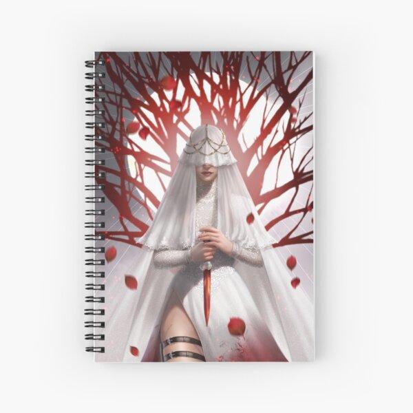The Maiden (veil version) Spiral Notebook