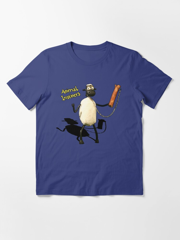 Alternate view of Animal Instincts - Sheep Essential T-Shirt