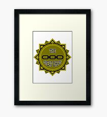 Pull The Great Chain! Framed Print