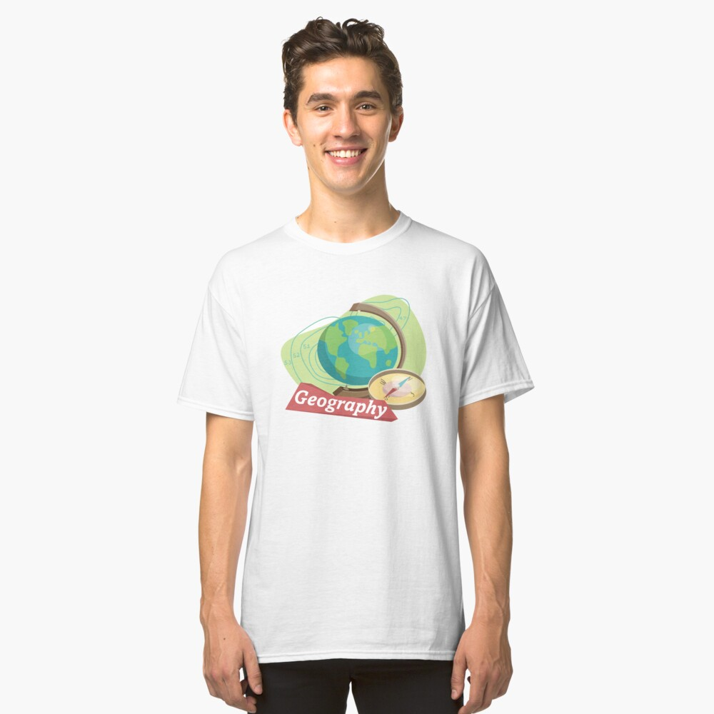 Geography Classic T-Shirt Front