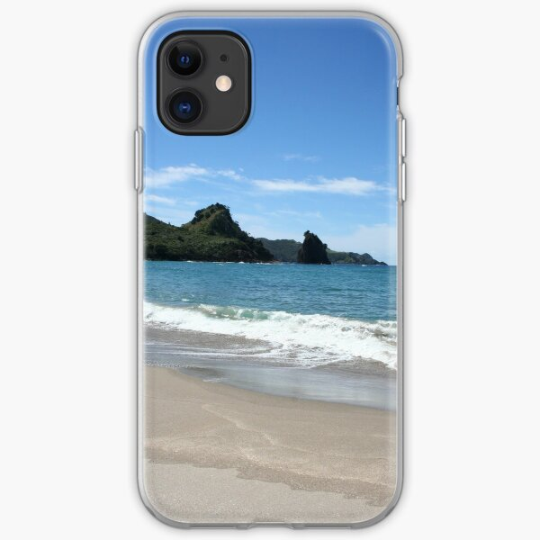 Great Barrier Island Beach - New Zealand iPhone Soft Case