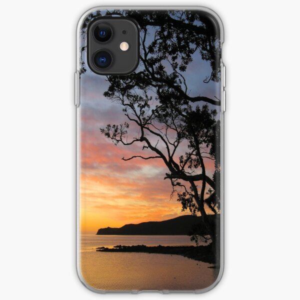 Great Barrier Island Sunset - New Zealand iPhone Soft Case