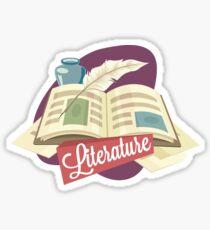 Literature Sticker