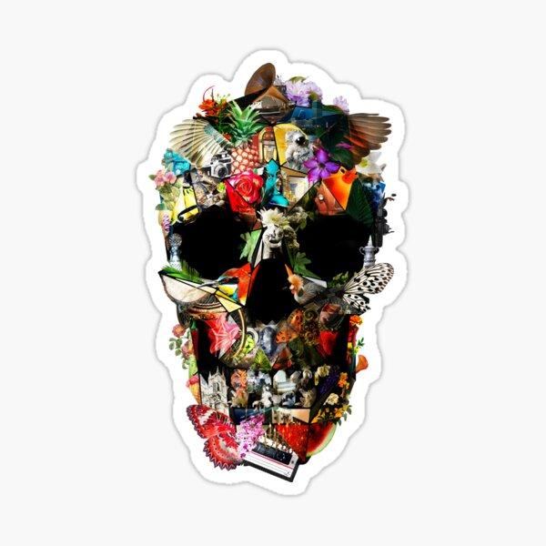 Fragile Skull 2 Sticker