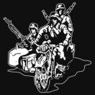 German Military Sidecar by b24flak