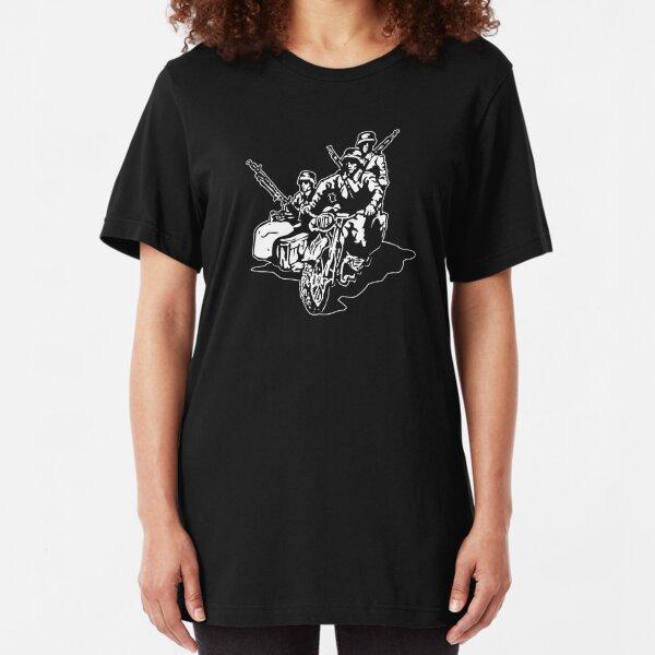 German Military Sidecar Slim Fit T-Shirt