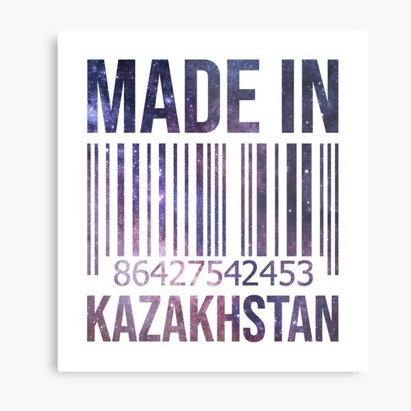 Made in Kazakhstan Metal Print
