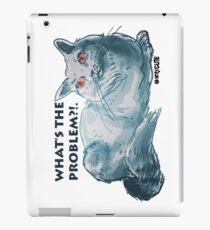 cartoon style illustrtion cool cat  iPad Case/Skin