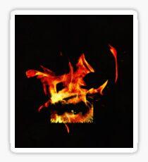 Soul on fire Sticker