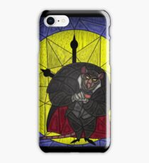 Steal the crown jewels - stained glass villains iPhone Case/Skin