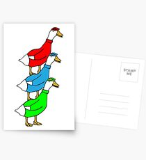 Another Quality Duck Stack- without words! Postcards