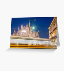 Milan cathedral Greeting Card